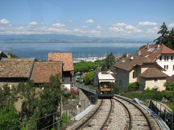 Thermal towns of Thonon