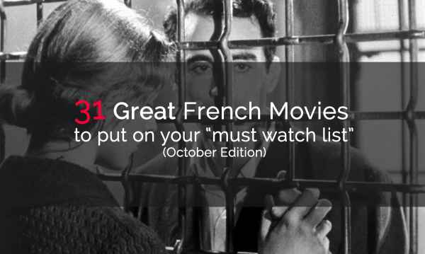 31 great french movies