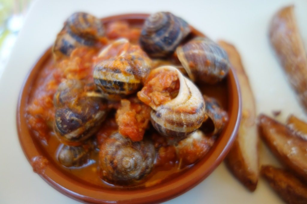 Escargots à la Caudéranaise