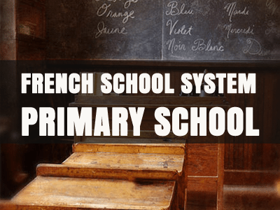 french school system primary school th