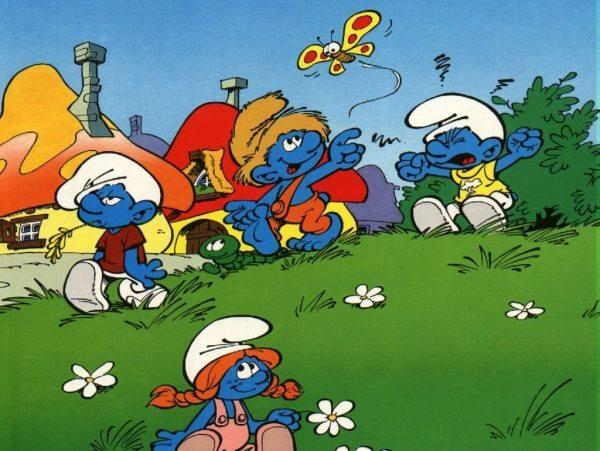 The Smurfs / Les schtroumpfs