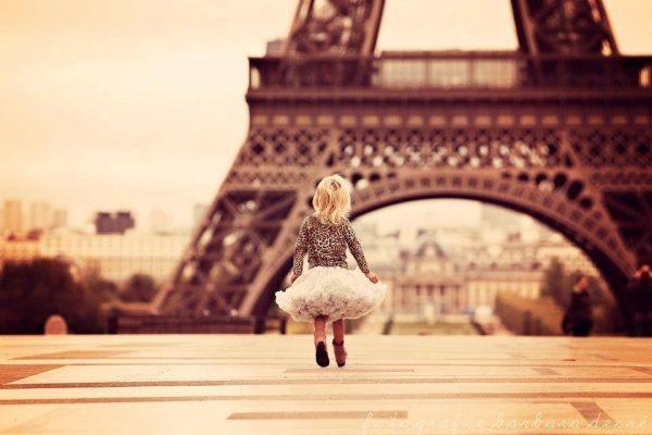 child eiffel tower