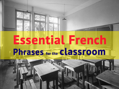 essential french phrases classrom