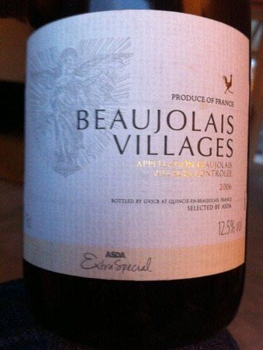 asda beaujolais villages
