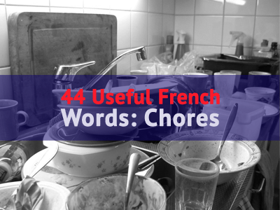 french words chores th
