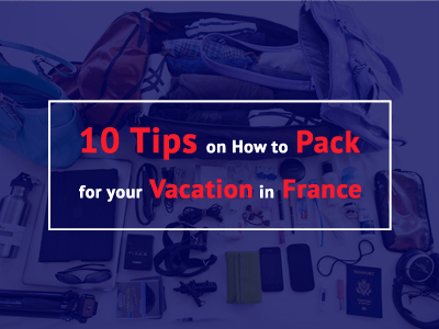 how to pack france paris