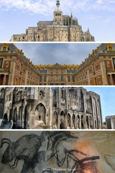 1 Heritage Sites in France www.talkinfrench.com