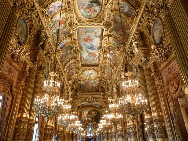 Palais Garnier Le grand foyer