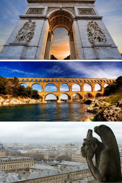Historical sites in France
