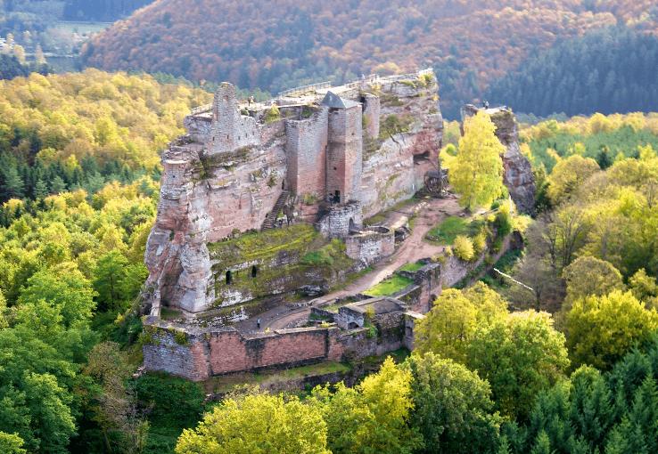 7 Château de Fleckenstein www.talkinfrench.com