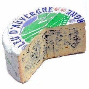 French cheese Bleu_dAuvergne_Cheese