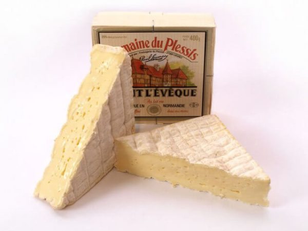 French cheese Pont-LEveque