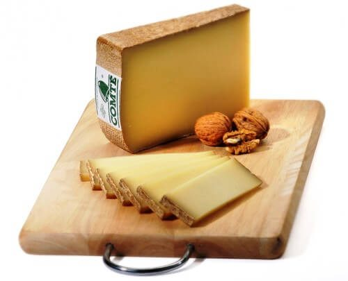French cheese comte