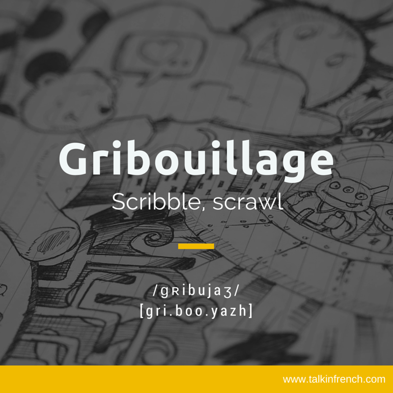 Gribouillage