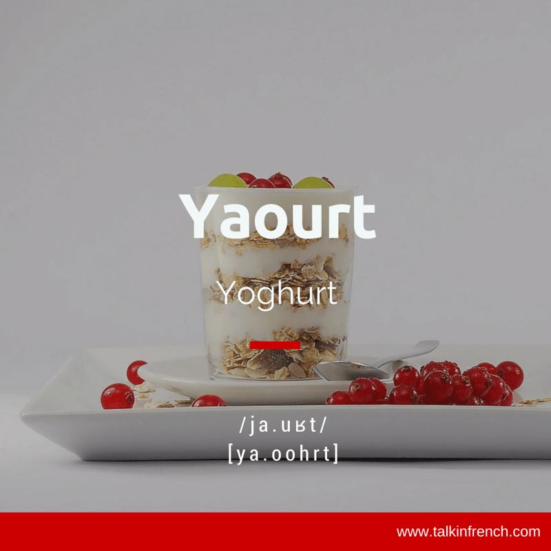 Yaourt Yoghurt