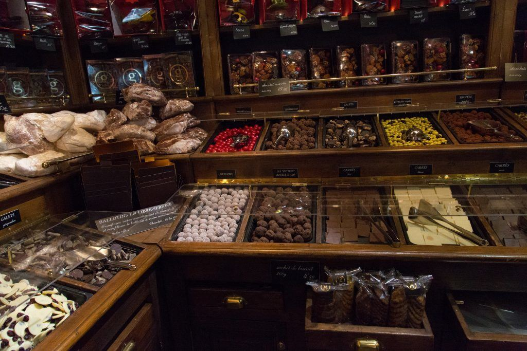 Paris Chocolate Shop-maison geroges larnicol