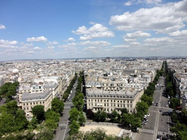 View_from_Arc_de_Triomphe