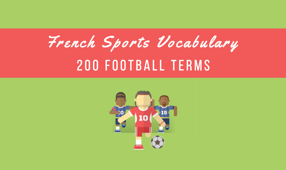french sports vocabulary football