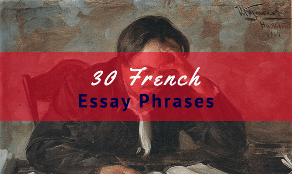 french phrases essay-transition words