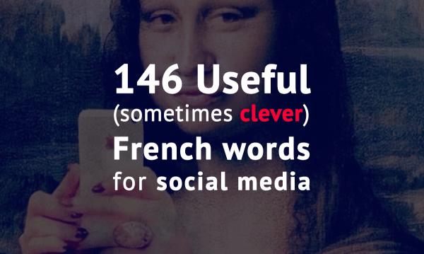 social media words french