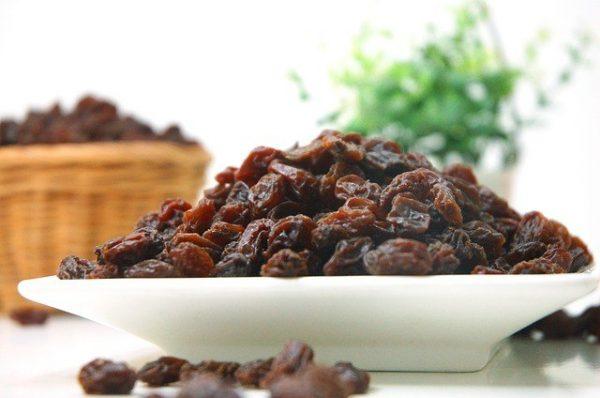 raisins english