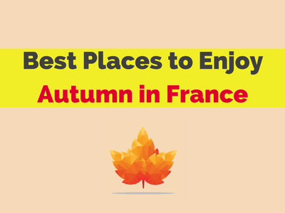 best places fall season france