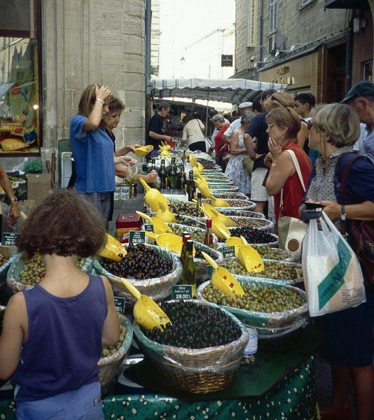carpentras provence market