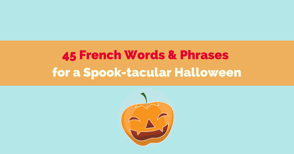 Halloween French vocabulary
