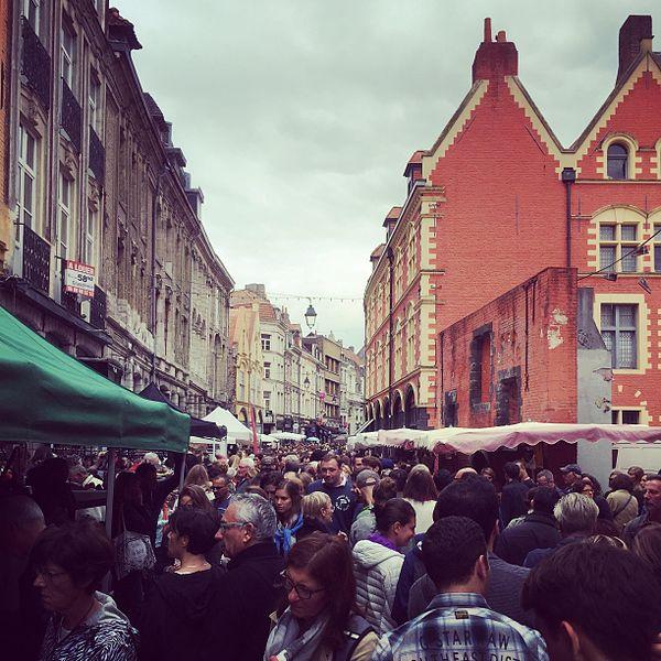 lille braderie market