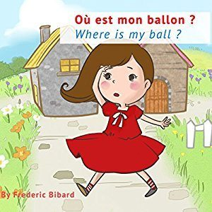 bilingual french english story book for kids christmas gift