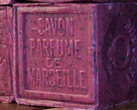 savon parfum de marseille