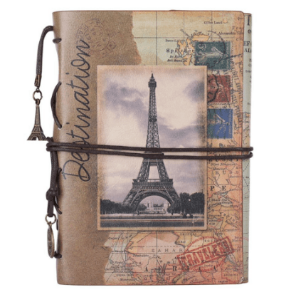 vintage french traveler jourrnal