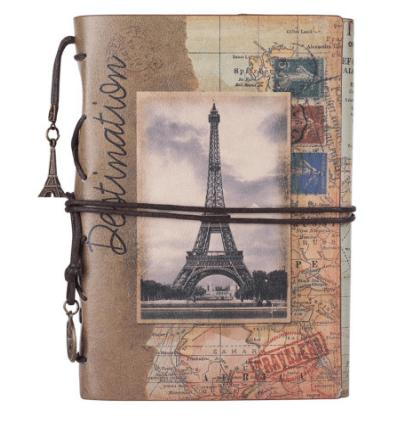 vintage french traveler jourrnal