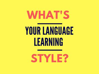 Language learning style