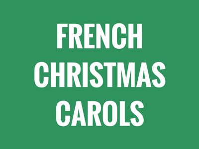 French Christmas Carols