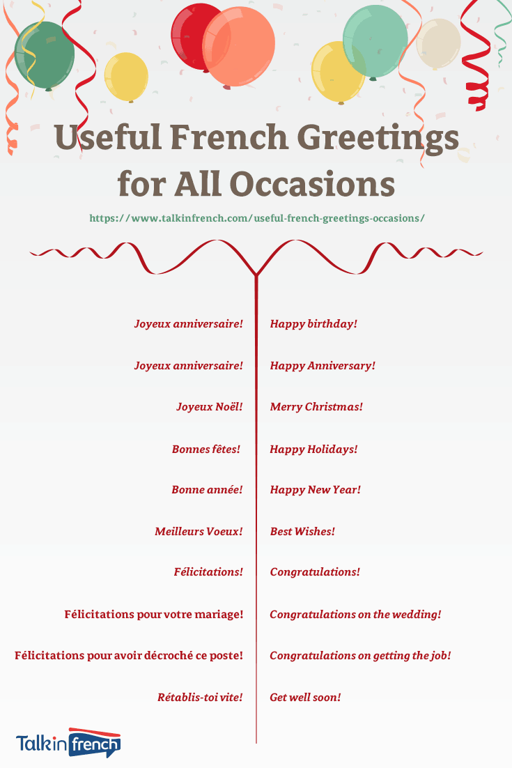 How to say happy second anniversary in french