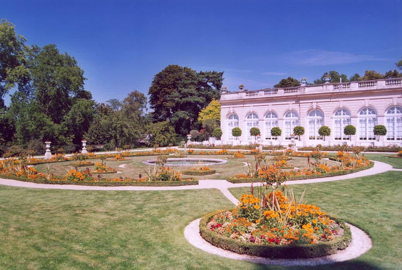 Le parc de Bagatelle Paris Auteur