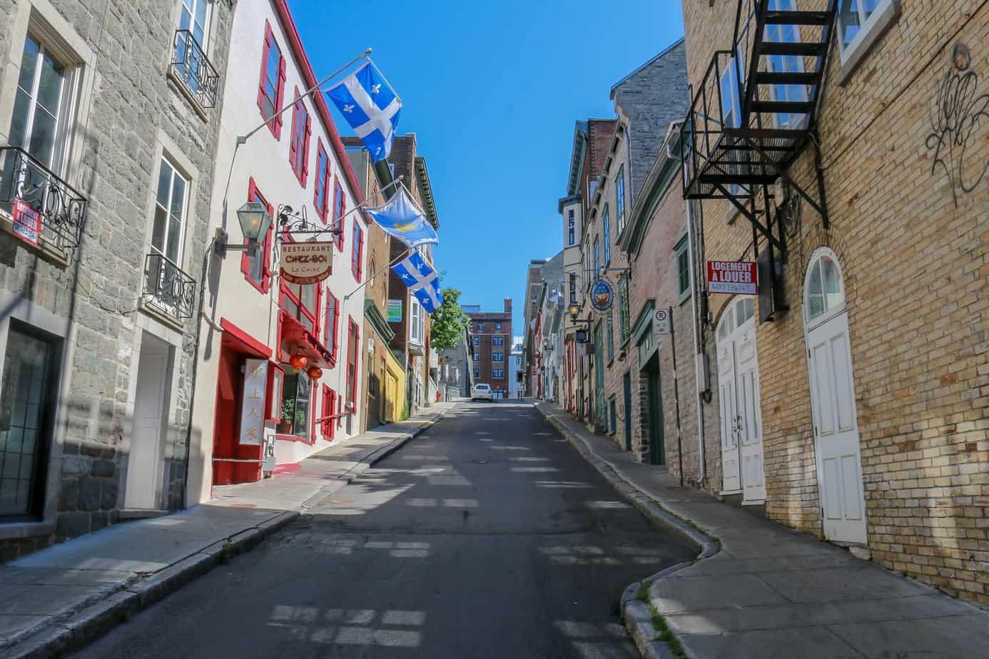 TalkInFrench Quebec street
