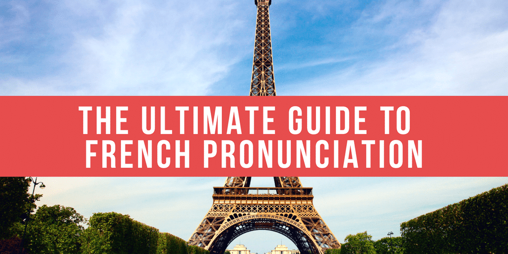 french pronunciation rules